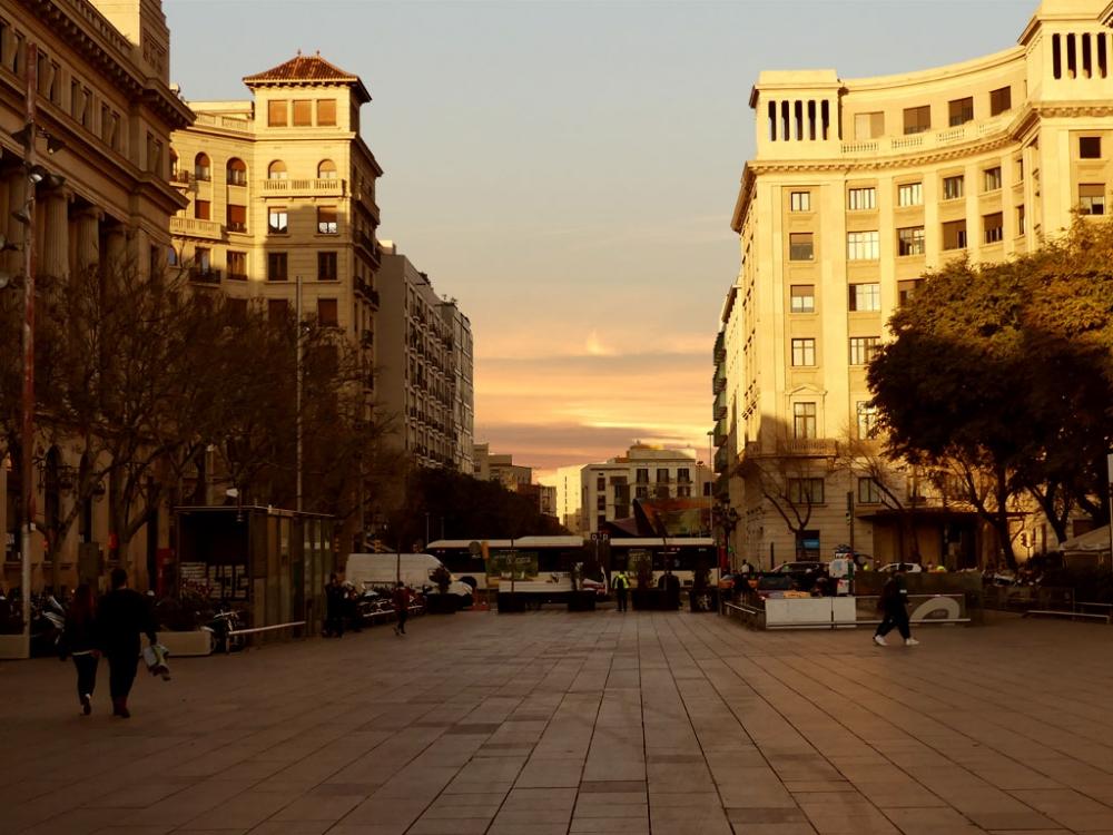 Plaza de la Catedral de Barcelona