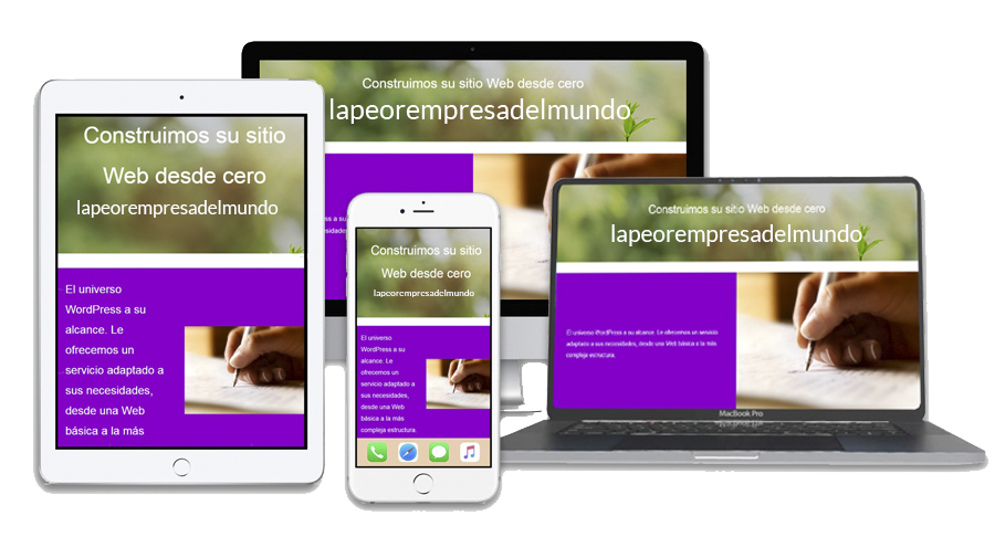 Dispositivos Responsive