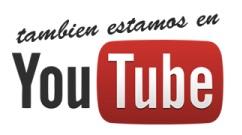 También me puedes encontrar en YouTube