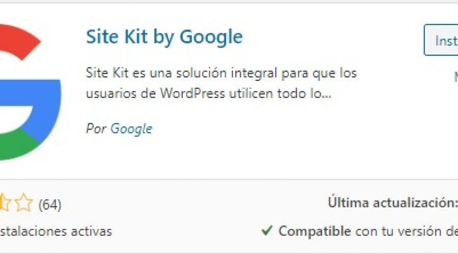 Google Site Kit 2020