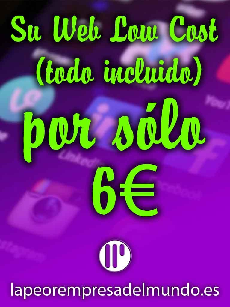 Publicidad Web por 6€